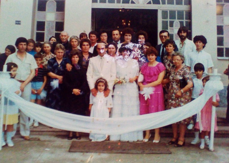 γάμος Ξανθούλας Κωνράκη